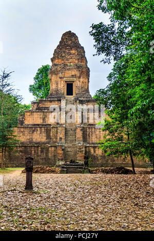Baksei Chamkrong pyramid temple, Angkor Wat, Cambodia - Stock Image