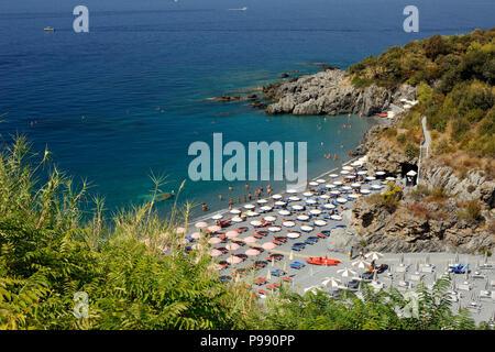 italy, basilicata, maratea, santa teresa beach - Stock Image