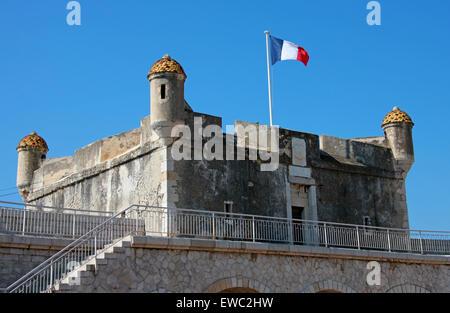 Musee Jean Cocteau, Menton, Cote D'Azure, France. The Jean Cocteau Museum. - Stock Image