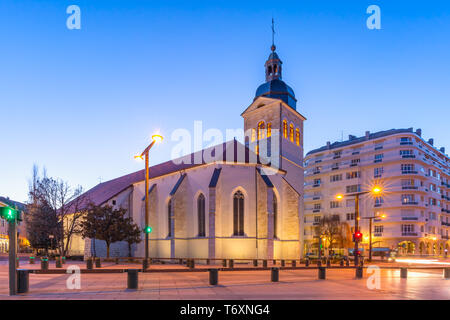 Church of St Maurice, Annecy, France - Stock Image