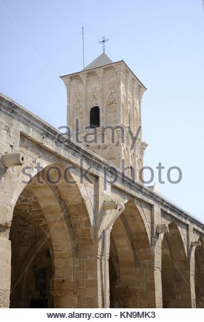 Pictures of Larnaca in Cyprus-Images de Larnaca à Chypre - Stock Image