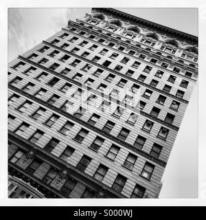 Black and white scenes from New York City. - Stock Image