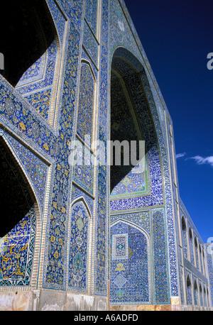 Iran Esfahan Emam Mosque - Stock Image