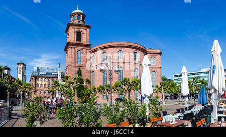 St. Paul's Church (Paulskirche), Frankfurt am Main, Germany. May 2017. - Stock Image