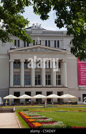 Riga National Opera House - Stock Image