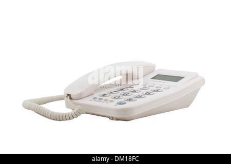 portrait of telephone - Stock Image