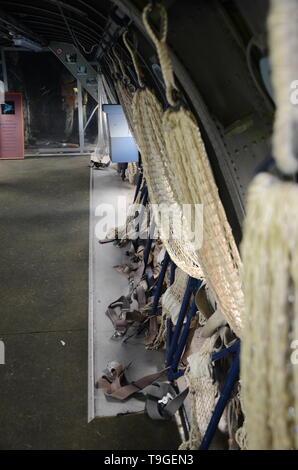 Blackburn Beverley, Fort Paull museum - Stock Image
