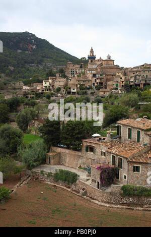 Valldemossa on Mallorca, Spain - Stock Image