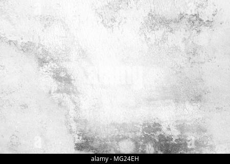 White Grunge Wall Background. - Stock Image