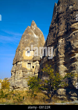 Cave dwellings in Goreme - Stock Image