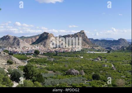 Murcia, Spain, Valle de Ricote - Stock Image