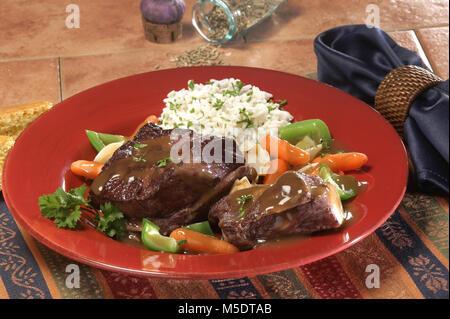 Beef Short Ribs - Stock Image