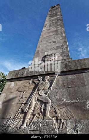 War Memorial, Cambridge Crescent, Harrogate, North Yorkshire, England, UK - Stock Image