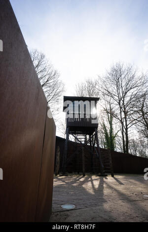 Formal Second World War Concentration camp Amersfoort, the Netherlands - Stock Image