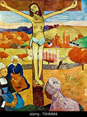 Paul Gauguin, The Yellow Christ, 1889 - Stock Image