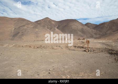 Geoglifos de Pintados - Stock Image