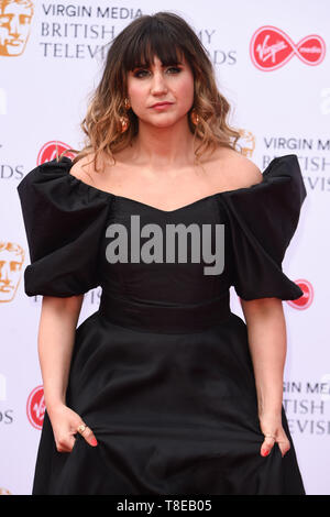 London, UK. 12th May, 2019. LONDON, UK. May 12, 2019: Natasia Demetriou arriving for the BAFTA TV Awards 2019 at the Royal Festival Hall, London. Picture: Steve Vas/Featureflash Credit: Paul Smith/Alamy Live News - Stock Image