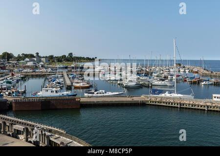 Havnsø Harbour - Stock Image