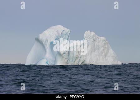 Iceberg in Ungava Bay - Stock Image