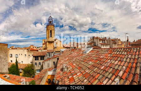 Church in Aix-en-Provence, France - Stock Image