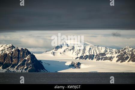 Northern Svalbard - Stock Image