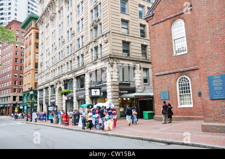 The Freedom Trail, Boston, Massachusetts, USA - Stock Image
