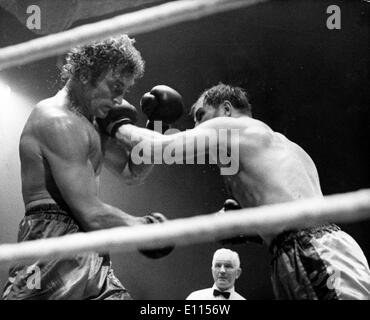 Aug 09, 1975 - London, England, UK - Boxer JACK BODELL. - Stock Image
