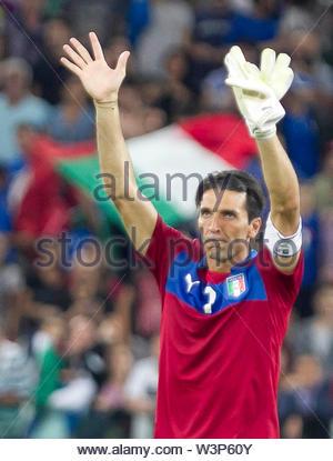 gianluigi buffon, qualificazioni mondiali brasile 2014, italia-repubblica ceca, torino 10.09.13 - Stock Image