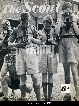The Scout Magazine 11 February 1955 For Editorial Use Only - Stock Image