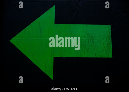 Direction Sign - Stock Image
