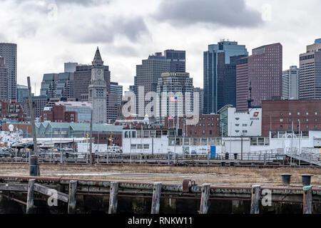 Boston, Massachusetts, USA - Stock Image