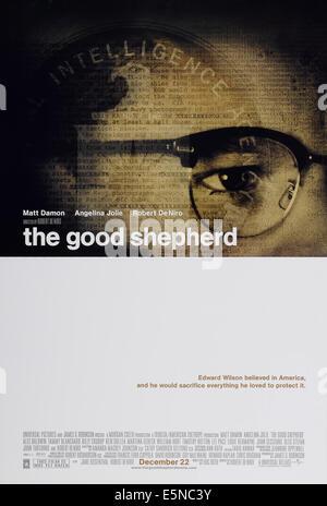 THE GOOD SHEPHERD, US advance poster art, Matt Damon, 2006, © Universal/courtesy Everett Collection - Stock Image