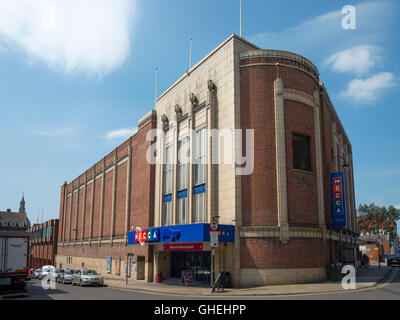 Mecca bingo Art Deco building exterior, formerly the Odeon Cinema opened in 1936. - Stock Image
