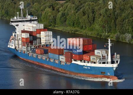 Containerfeeder Freya - Stock Image