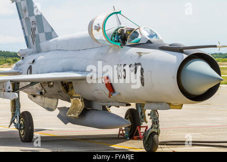 MiG-21 aircraft - Stock Image