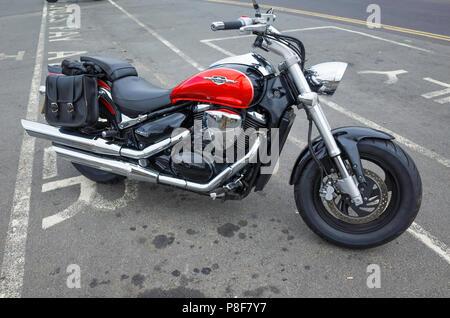 Suzuki Intruder 800cc cruiser motorcycle - Stock Image