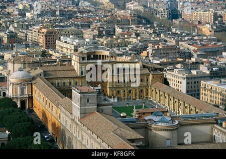Vatican City. The Vatican Museums - Stock Image