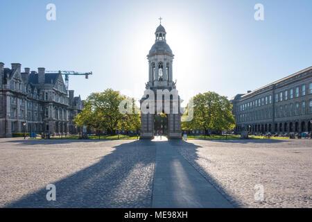 Trinity College in Dublin, Ireland - Stock Image