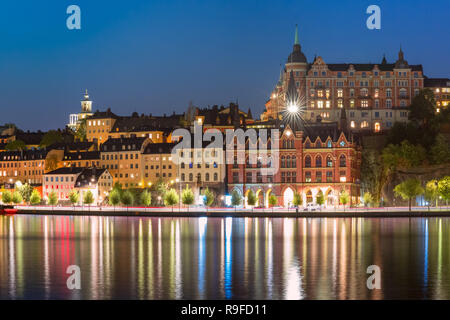 Sodermalm in Stockholm, Sweden - Stock Image