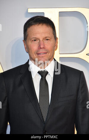 London, UK. 27th September 2018. Producer Bill Gerber attend A Star Is Born UK Premiere at Vue Cinemas, Leicester Square, London, UK 27 September 2018. Credit: Picture Capital/Alamy Live News - Stock Image