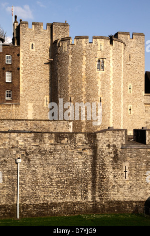 Beauchamp Tower at the Tower of London - Stock Image