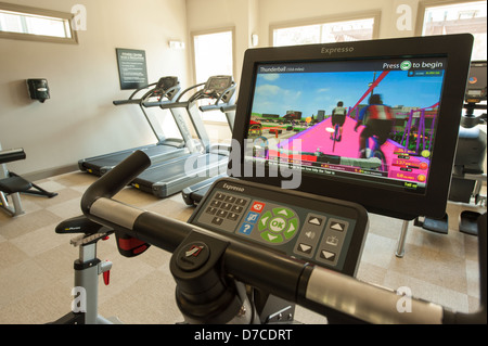 workout room - Stock Image