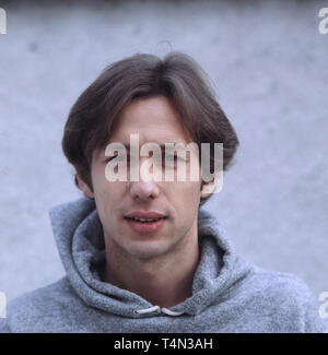 Stephan Schwartz, deutscher Film- und Fernsehschauspieler, Deutschland ca. 1985. German movie and TV actor Stephan Schwartz, Germany ca. 1985. - Stock Image
