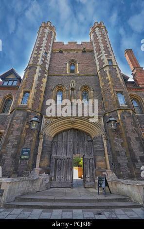 queens college cambridge - Stock Image