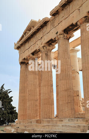 Acropolis of Athens - Stock Image