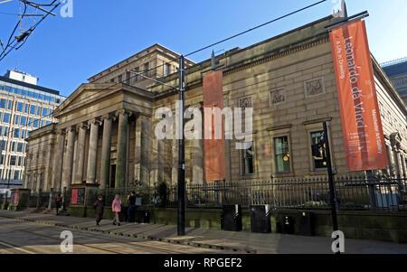 Art Gallery, Mosley Street, Manchester, Lancashire, England, UK, M2 3JL - Stock Image