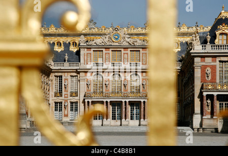 The Castle of Versailles, France - Stock Image