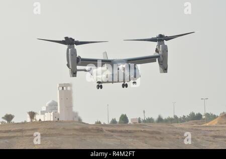 Bell Boeing MV22 Osprey Tiltrotor - Stock Image