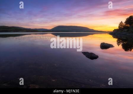 Lough Corrib in county Galway - Ireland - Stock Image
