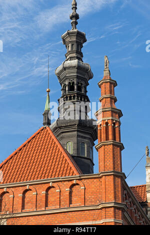The Baltic Sea Cultural Centre Gdańsk Poland - Stock Image